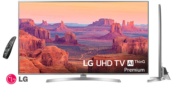 Chollo Smart TV LG 65UK7550PLA UHD 4K HDR de 65""