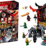Chollo Templo de la Resurrección de LEGO Ninjago con 7 minifiguras