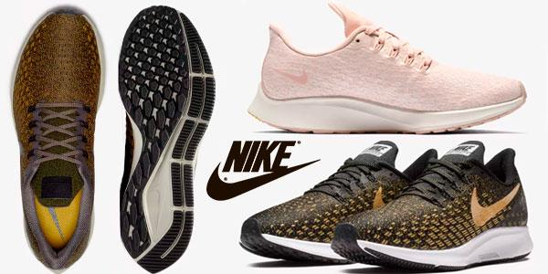 Chollo Zapatillas de running Nike Air Zoom Pegasus 35 para hombre y mujer