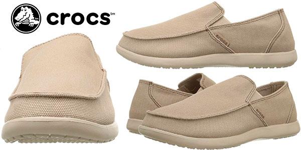 0906c783f0e Chollo Zapatos Crocs Santa Cruz de lona para hombre por sólo 31