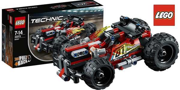 Coche de carreras LEGO Technic ¡Derriba! barato en Amazon