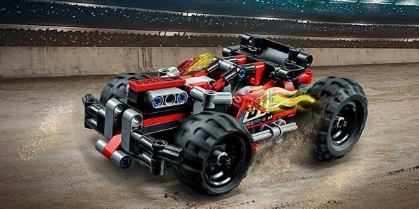 Coche de carreras LEGO Technic ¡Derriba! chollo en Amazon
