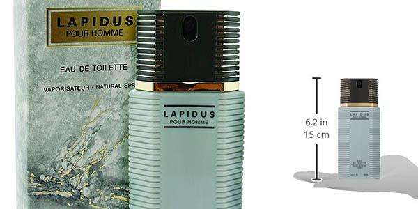 colonia de aroma fresco y amaderado Ted Lapidus Lapidus 100 ml chollo