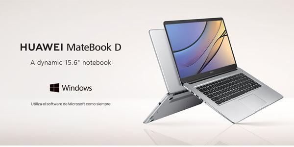Comprar portátil Huawei Matebook D barato en Amazon