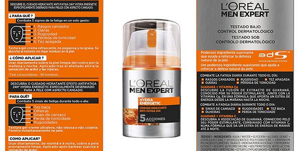 crema hidratante anti-fatiga L'Oréal Men Expert chollo