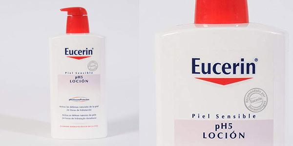 Crema hidratante Eucerin PH5 Skin Protection de 1 litro barata en Amazon