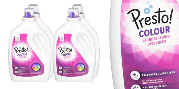 Detergente líquido Amazon Presto Colour barato
