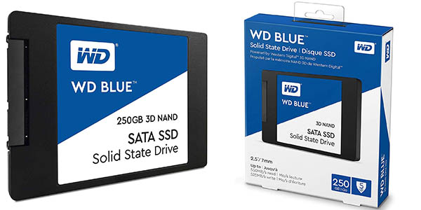 Disco SSD WD Blue 250 GB 3D Nand en Amazon