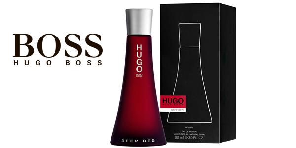 Eau de parfum Hugo Boss Deep Red de 90 ml barato en Amazon