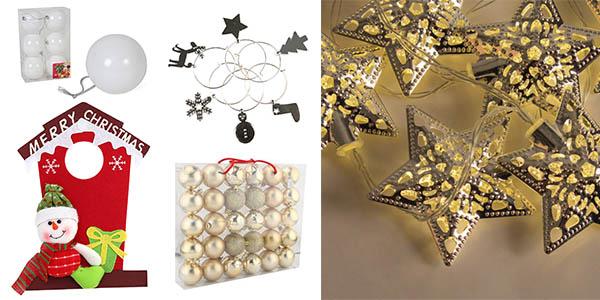 eBay objetos de decoración de Navidad chollos