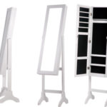 Espejo joyero organizador de cuerpo entero (155 x 35 x 35 cm) barato en eBay
