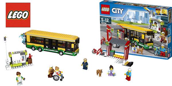 Estación de autobuses LEGO City Town barata en Amazon