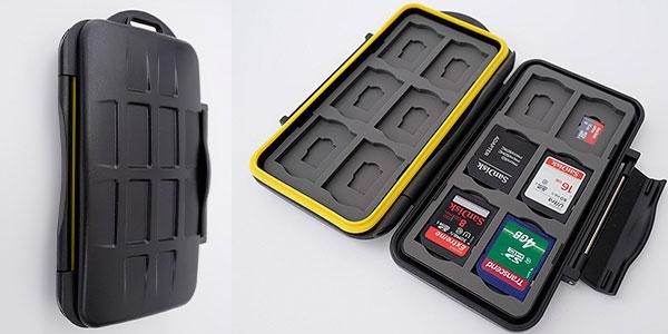 Estuche protector Ares Foto para tarjetas de memoria SD y Micro SD