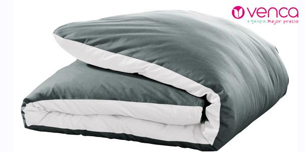 Funda nórdica bicolor Venca de puro algodón chollazo en eBay