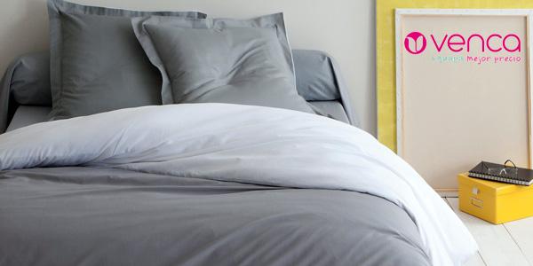 Funda nórdica bicolor Venca de puro algodón barata en eBay