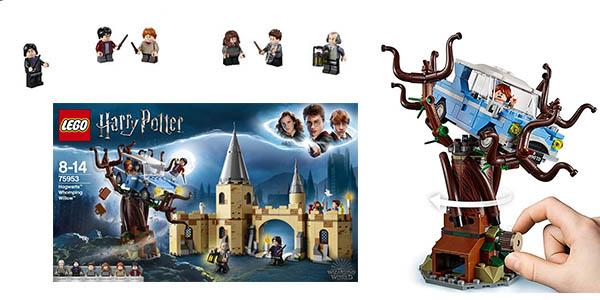 Harry Potter Sauce Hogwarts Lego para niñ@s de 8 a 14 años chollo
