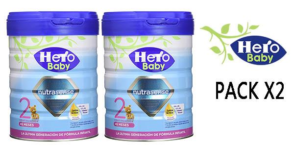 Hero Baby leche de continuación infantil barata