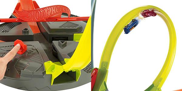 Hot Wheels Megalooping pista de coches para niñ@s de 5 años chollo
