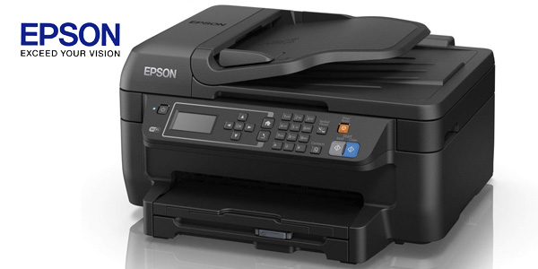 Impresora multifunción 4-en-1 Epson Workforce WF-2750DWF inyección de tinta con WiFi chollazo en Amazon
