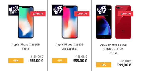 iPhone en el Black Friday