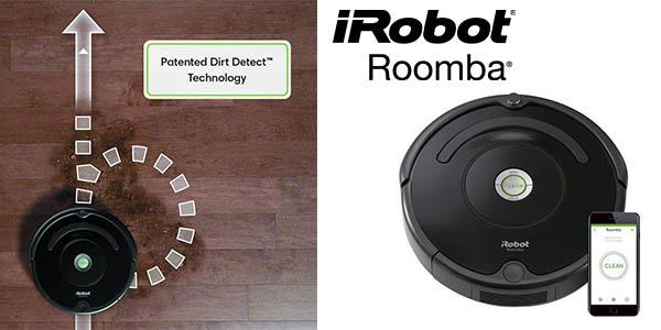 Chollazo Robot aspirador iRobot Roomba 675 con conexión WIFI por ... e011f6dc5ace