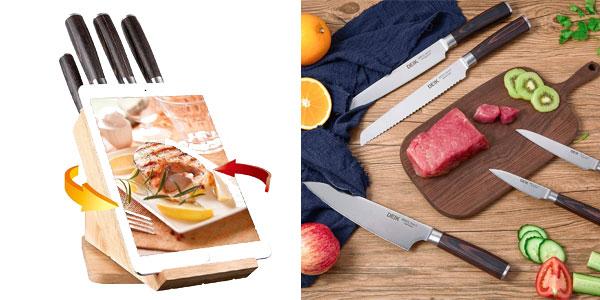 Chollo juego de cuchillos de cocina de alta calidad deik por s lo 35 98 con env o gratis 35 - Juego de cuchillos de cocina ...