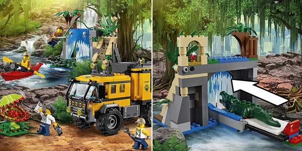 LEGO City - Jungla: Laboratorio Móvil chollo en Amazon