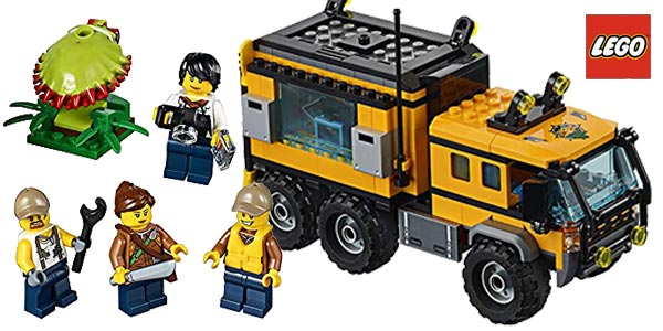 LEGO City - Jungla: Laboratorio Móvil chollazo en Amazon