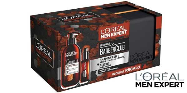 L'Oréal Men Expert Kit Barber Club barato en Amazon