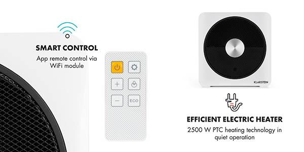 Klarstein Heatpal Bloxx climatizador por aire inteligente chollo