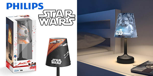 lámpara de ambiente Philips Star Wars barata