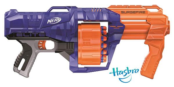 Lanzadardos Nerf Elite Surgefire Hasbro ES0011EU4 chollazo en Amazon