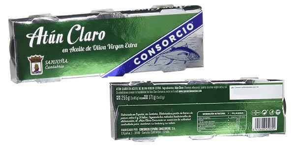 latas de atún claro en aceite de oliva virgen extra pack ahorro