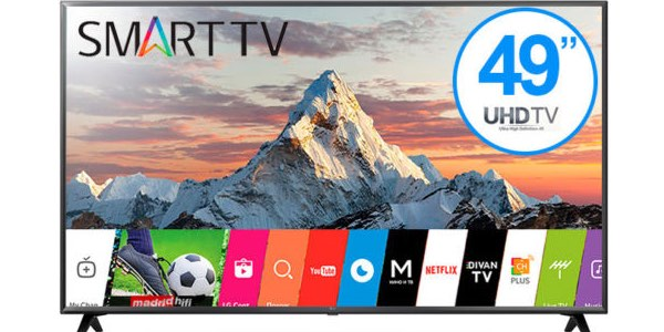 Smart TV LG 49UK6200 barata