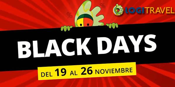 Logitravel Black Friday descuentos en viajes 2018