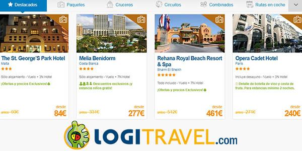 Logitravel ofertas en viajes y vacaciones para el Black Friday 2018