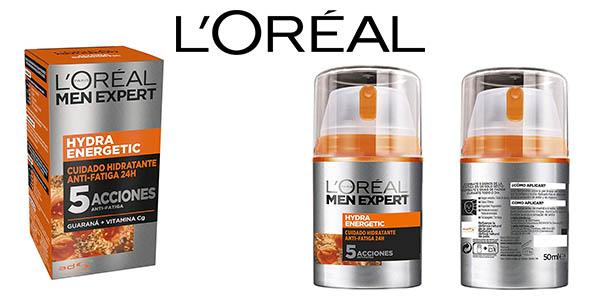 L'Oréal Paris Men Expert crema hidratante anti-fatiga Hydra Energetic para hombre barata