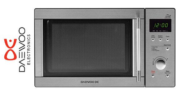Microondas con Grill DAEWOO KOG-837RS de 23 Litros y acero inoxidable barato en eBay