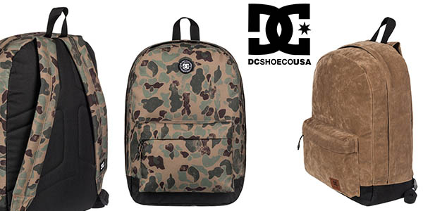 mochila DC Shoes Backstack barata