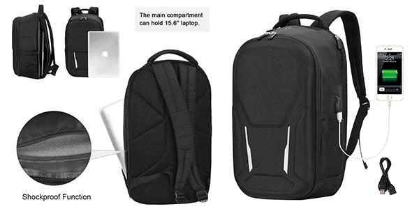 mochila Vbiger para portátil con cupón descuento en Amazon