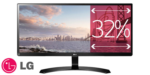 Monitor panorámico LG 29UM59A-P Ultrawide Full HD de 29'' barato