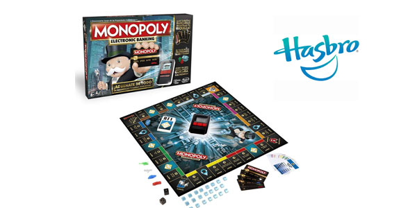 Monopoly Electronic Banking de Hasbro barato en Amazon