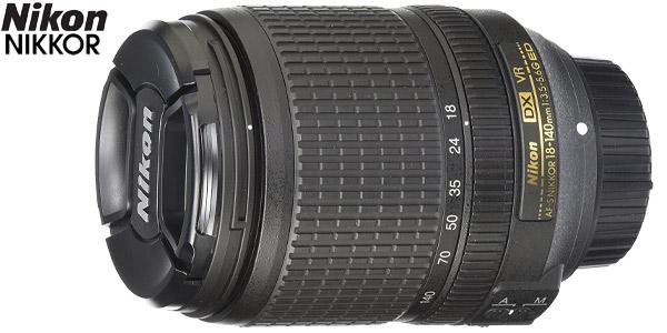 Objetivo Nikon AF-S DX NIKKOR 18-140mm f/3.5-5.6G ED VR Lens chollo en eBay