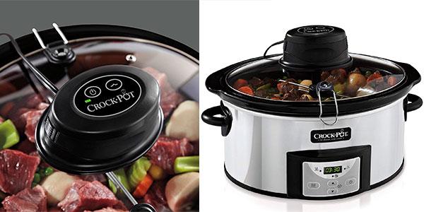 Chollo Olla de cocción lenta Crock-Pot CSC012X de 5,7 litros