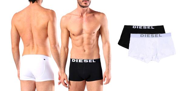 Pack de 2 Bóxer Diesel de algodón para hombre chollazo en eBay