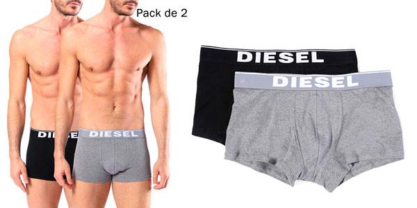 Pack de 2 Bóxer Diesel de algodón para hombre barato en eBay