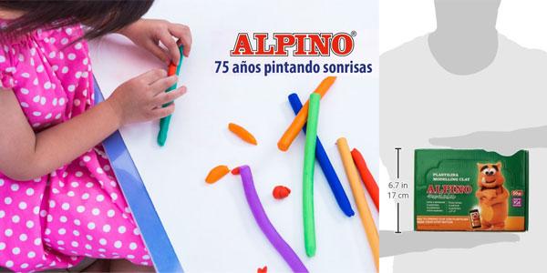 Pack de 24 unidades de Plastilina Alpino chollo en eBay