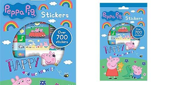 Set de 700 pegatinas de Peppa Pig barato en Amazon