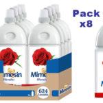 Pack x8 Mimosín Rosa Floral Suavizante Concentrado para 78 lavados barato en Amazon