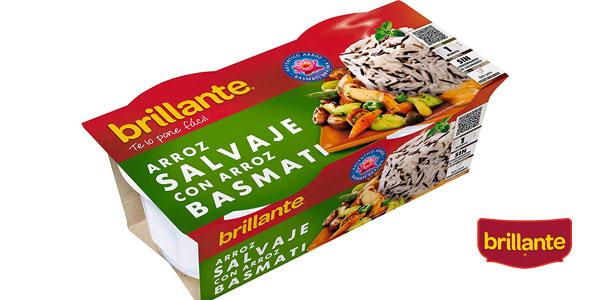 Pack de 8 paquetes (2x125gr) Brillante arroz salvaje con arroz basmati chollo en Amazon